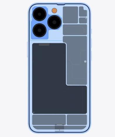 iPhone 13 Pro внутри