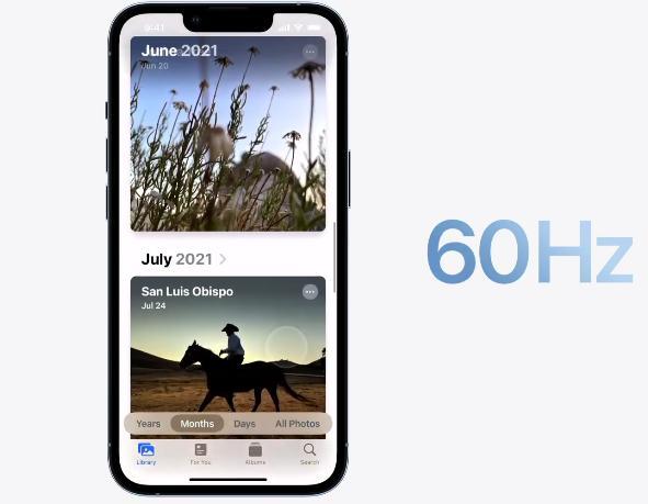 Pro Motion в iPhone 13 Pro