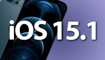 Обзор iOS 15.1