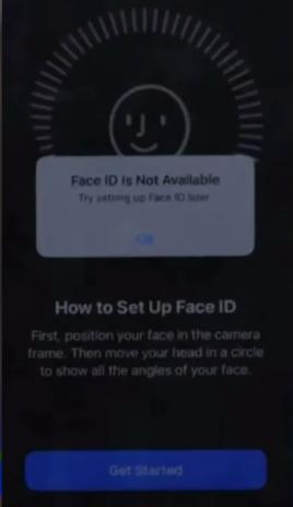 FaceID не работает