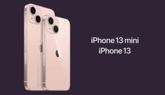 iPhone 13 и iPhone 13 мини