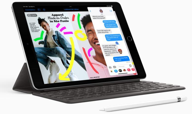 iPad 9 с клавиатурой